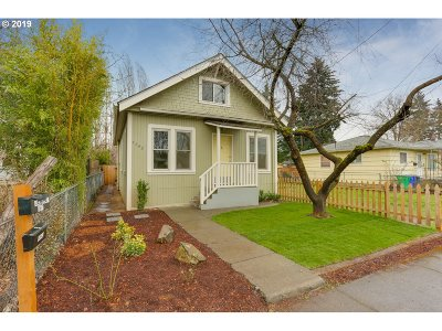 Single Family Home For Sale: 4842 SE 64th Ave