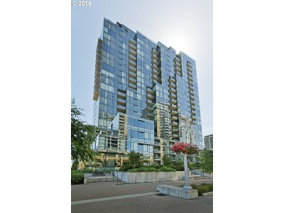 Multnomah County, Washington County, Clackamas County Condo/Townhouse For Sale: 0841 SW Gaines St #2206