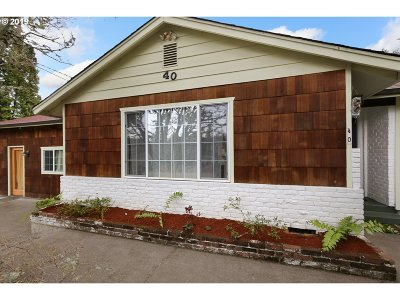 Eugene Single Family Home For Sale: 40 W 38th Ave