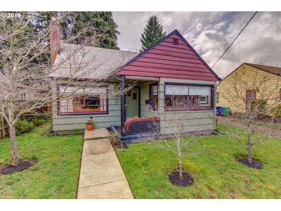 Single Family Home For Sale: 3925 SE 48th Ave
