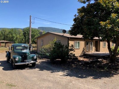 Single Family Home For Sale: 90611 Hill Rd