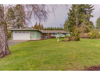 Canby Single Family Home Sold: 8515 S Sconce Rd
