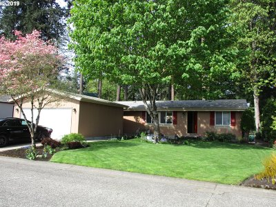 Canby Single Family Home For Sale: 1655 S Elm St #543