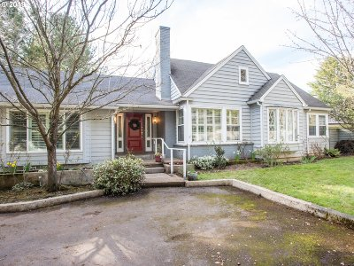 Single Family Home For Sale: 4485 SW Laurelwood Ave