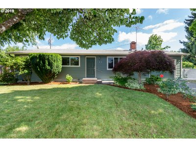 Springfield Single Family Home For Sale: 425 S 39th Pl