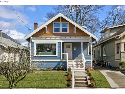 Portland Single Family Home For Sale: 1836 SE 45th Ave