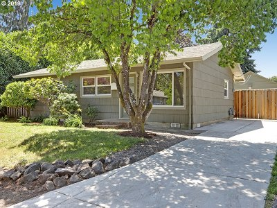 Single Family Home For Sale: 6603 SE 77th Ave