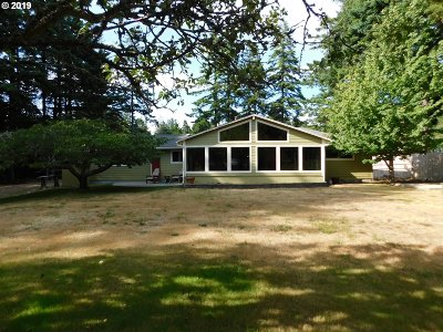 Port Orford Single Family Home For Sale: 92716 Knapp Rd