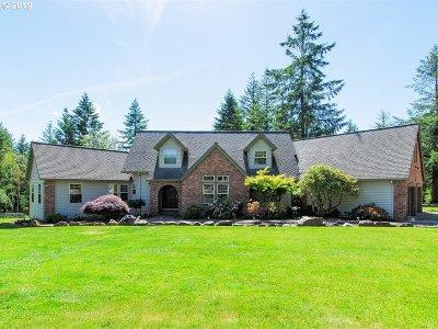 Clark County Single Family Home For Sale: 20105 NE 272nd St