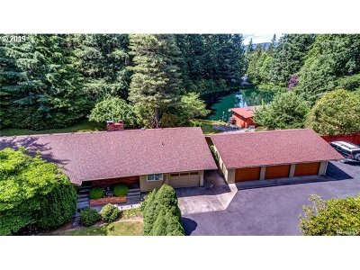 Cowlitz County Single Family Home For Sale: 604 606 Kool Rd