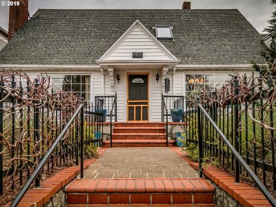 Portland Single Family Home For Sale: 9476 N Allegheny Ave