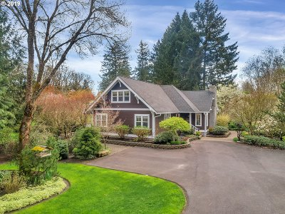 Canby Single Family Home Pending: 8030 S Vale Garden Rd