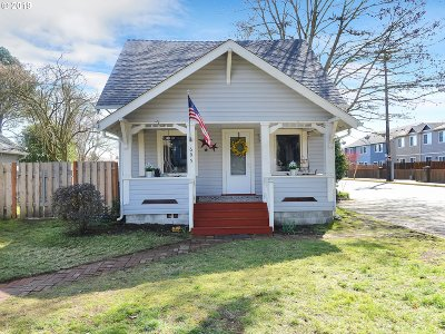 Canby Single Family Home Pending: 695 NW 3rd Ave