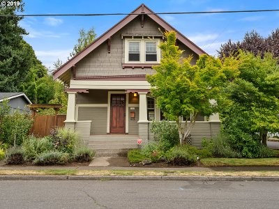 Portland Single Family Home For Sale: 3226 SE 67th Ave