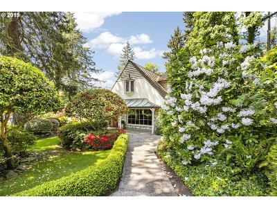 Lake Oswego Single Family Home For Sale: 720 Southview Rd