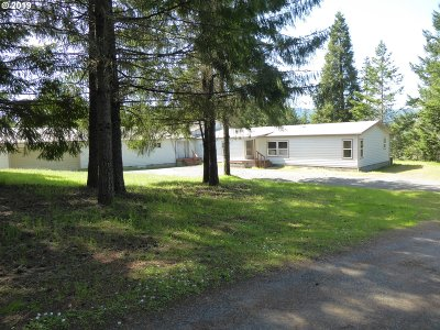 Single Family Home For Sale: 4984 Oak Hill Rd