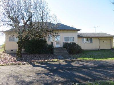 Dayton Single Family Home For Sale: 15954 SE Lafayette Hwy