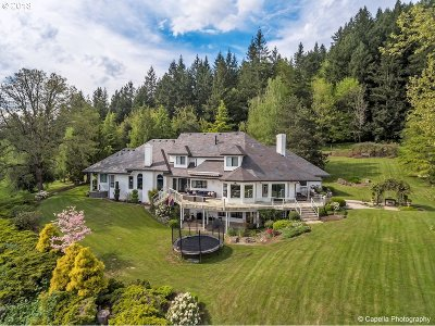 Lake Oswego Single Family Home For Sale: 18785 Westview Dr