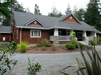 Bandon Single Family Home For Sale: 89073 Brown Ln