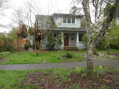 Eugene Single Family Home For Sale: 828 W 10th Ave