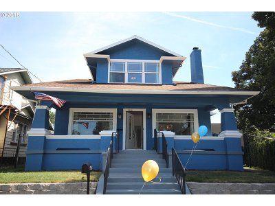 Single Family Home For Sale: 3312 SE 23rd Ave