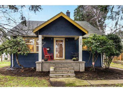Single Family Home For Sale: 3226 SE 85th Ave