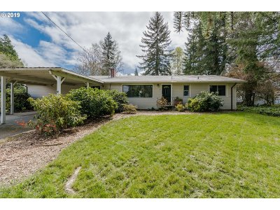 Forest Grove Single Family Home For Sale: 1330 Spring Garden Way
