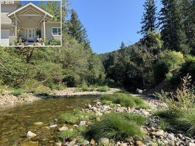 Brookings Single Family Home For Sale: 1342 Winchuck River Rd