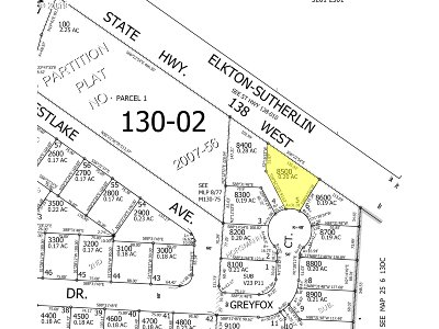 Sutherlin Residential Lots & Land For Sale: 2600 Greyfox Ct