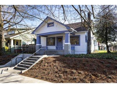Single Family Home For Sale: 5116 NE Garfield Ave