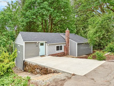 Clackamas County Single Family Home For Sale: 750 Division St