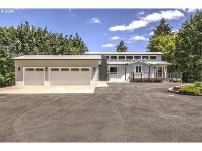 Single Family Home For Sale: 17811 NW Collins Rd
