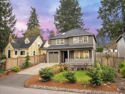 Lake Oswego Single Family Home For Sale: 209 Ridgeway Rd