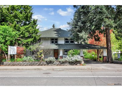 Single Family Home For Sale: 12113 SE Foster Rd