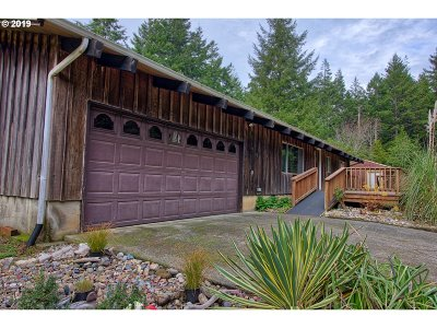 Bandon Single Family Home For Sale: 53699 Beach Loop Rd