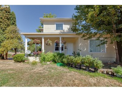Woodburn Single Family Home For Sale: 1035 E Lincoln St