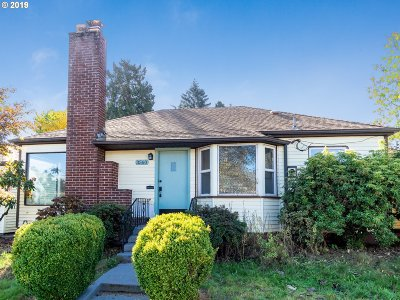 Single Family Home For Sale: 3552 NE Killingsworth St