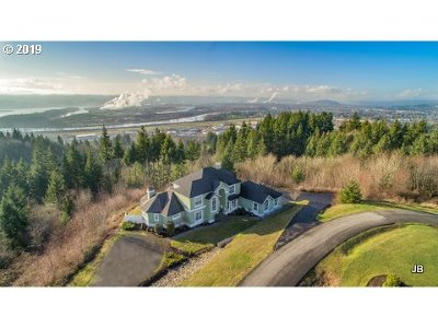 Cowlitz County Single Family Home For Sale: 127 Tybren Heights Rd