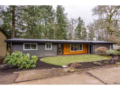Eugene Single Family Home For Sale: 1935 W 28th Ave