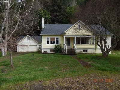 Coos Bay Single Family Home For Sale: 63163 Catching Slough Rd