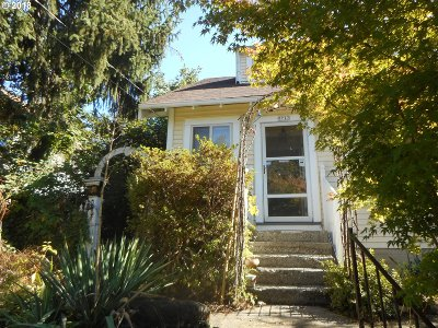 Portland Single Family Home For Sale: 9717 N Smith St