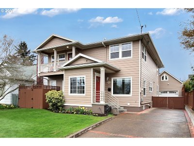 Multnomah County Single Family Home For Sale: 3312 NE 48th Ave