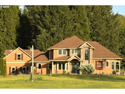 Eugene Single Family Home For Sale: 85115 Florence Rd