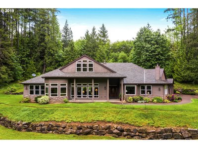 North Plains Single Family Home For Sale: 39767 NW Murtaugh Rd