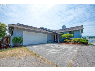 Coos Bay Single Family Home For Sale: 91156 Cape Arago Hy