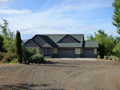 Goldendale Single Family Home For Sale: 2436 Hwy 142
