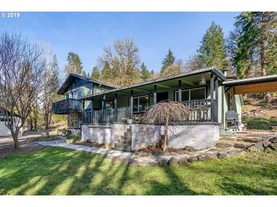 Cowlitz County Single Family Home For Sale: 1114 Hazel Dell Rd