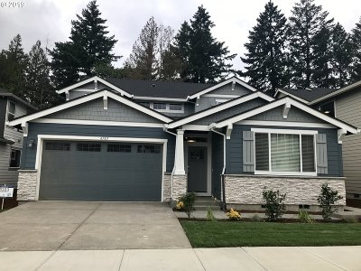 Hillsboro Single Family Home For Sale: 6183 SE Genrosa St #LOT87