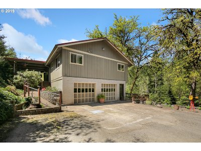 Cottage Grove, Creswell Single Family Home For Sale: 32752 Taylor Butte Rd