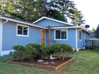 Port Orford Single Family Home For Sale: 1059 Thirteenth St